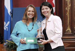 Réception du prix Phénix de l'environnement 2007