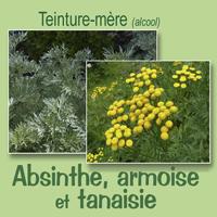 Teinture Absinthe-Armoise-Tanaisie